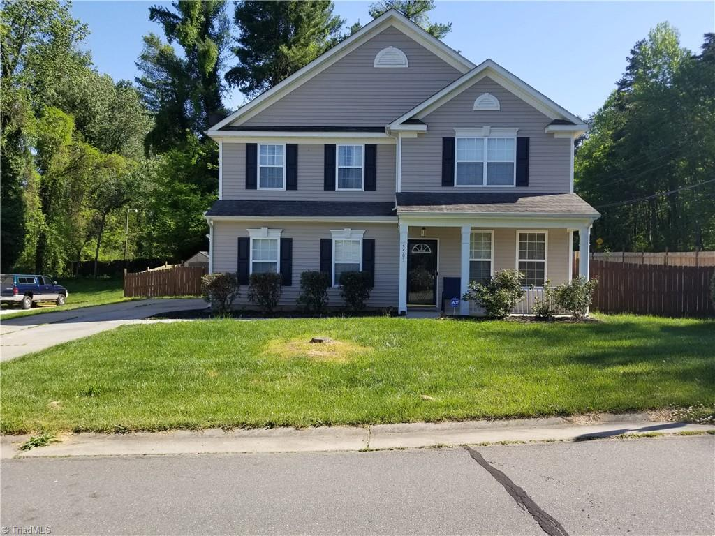Beautiful home covenient to Winston Salem. 4 Bedroom, 2 1/2 Baths. Large Kitchen with Breakfast Area. Center Island. Walk in closets. Gas Fireplace. Lots of room for family and friends.  Separate Dining Area. Door Bell Camera Lock on Front Door. 2 Car Garage. Privacy Fence. A Must See.