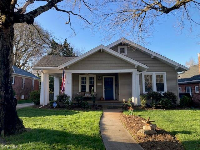 Wonderful Ardmore bungalow. Fully remodeled in 2010 with addition in 2012. Main level master with walk-in shower. Screened in porch with radiant heaters. Guest Suite or rental unit above the garage with a separate entrance, full bath and porch. Fenced in yard. 1.5 car garage and separate carport. Vaulted ceilings and hardwood floors throughout. Multi-room sound system. Walk to Hospital.