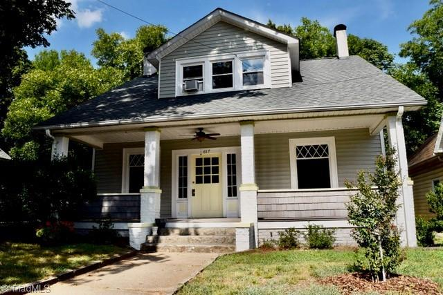 Unique opportunity to own an investment property in highly desirable West Salem. This duplex offers Historic charm and a successful rental history. Hardwood floors in both units. Improvements by owner since 2016 include new roof, porch & windows, downstairs kitchen & bath, refinished heartwood pine floors (upstairs) - see supplemental sheet for more. Tenant occupied (leases: main level/August, upstairs/Sept). Main level could be owner occupied with upstairs tenant or easily converted back to single family. This property has limited showing availability. Two open houses have been set up - Monday, May 10th 1pm to 3pm & Sunday, May 16th 2pm - 4pm.