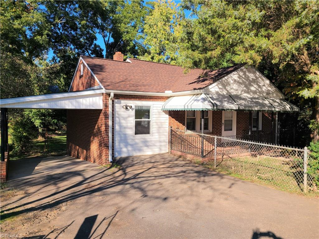 Nicely updated brick 3 bedroom/2 bath home. Home boasts insulated windows, architectural roof in 2019, laminate flooring, New insulation, new water heater, updated wiring and plumbing, and fenced back yard.  Bathrooms are also updated including tile in the 2nd bathroom. Refrigerator to stay. Great house for the money!