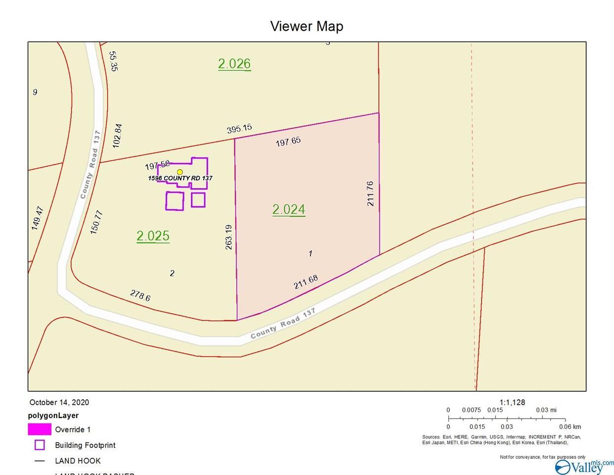 Photo of home for sale at Lot 1, Add. 1 County Road 137, Cedar Bluff AL