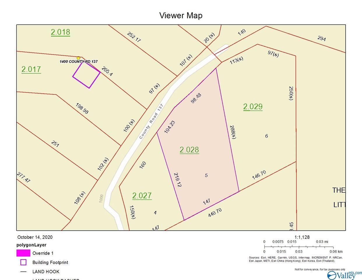 Photo of home for sale at Lot 5, Add.1 County Road 137, Cedar Bluff AL