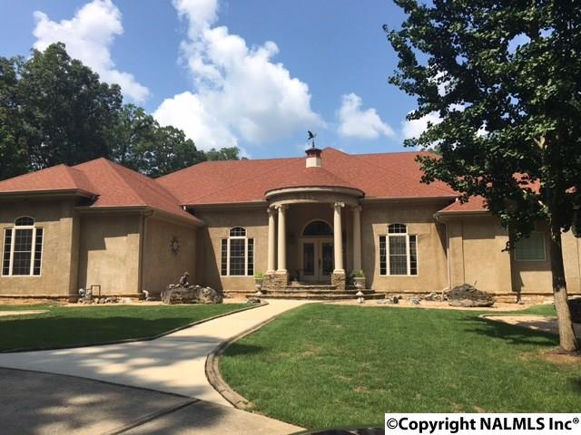 Photo of home for sale at 215 Clark Mountain Road, Huntsville AL