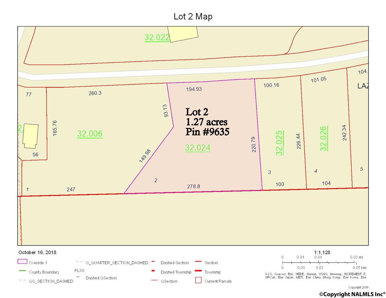 Photo of home for sale at Lot 2 County Road 118, Centre AL