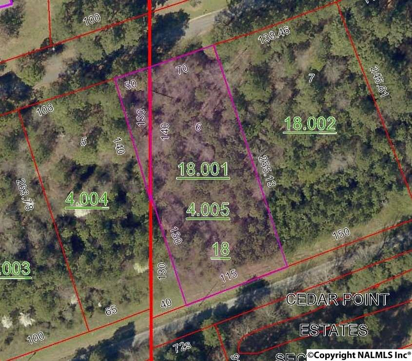 Photo of home for sale at Lot 6 County Road 467, Cedar Bluff AL