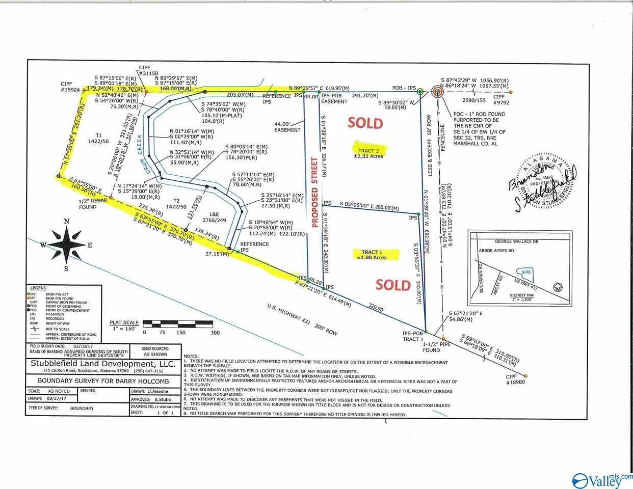 Photo of home for sale at 9472-C US Highway 431, Albertville AL