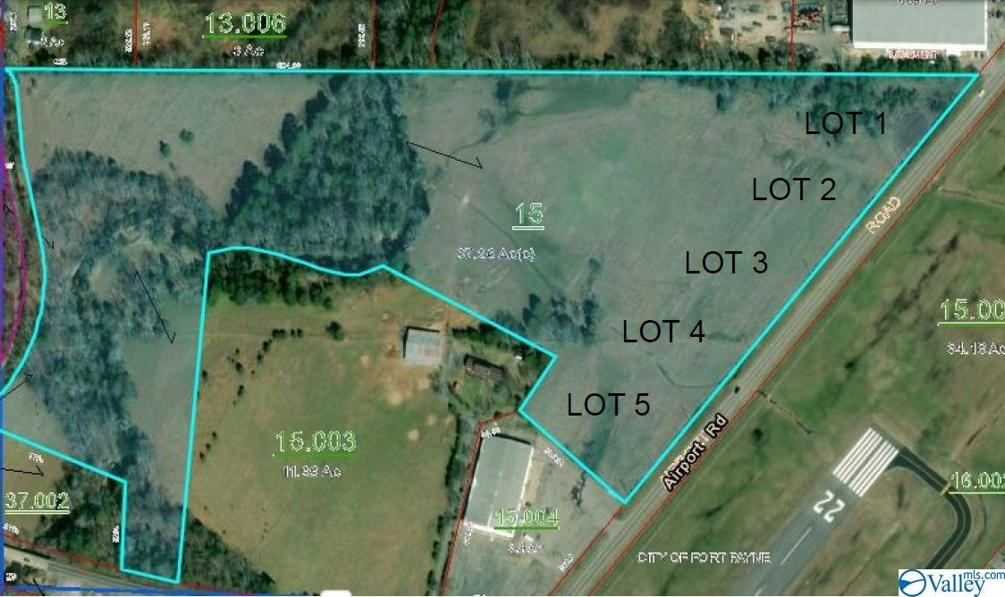 Photo of home for sale at Lot 1 Airport Road, Fort Payne AL