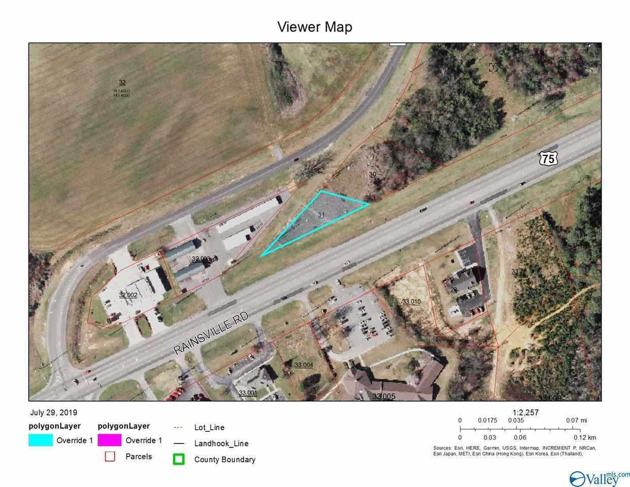 Photo of home for sale at Hwy 75, Albertville AL