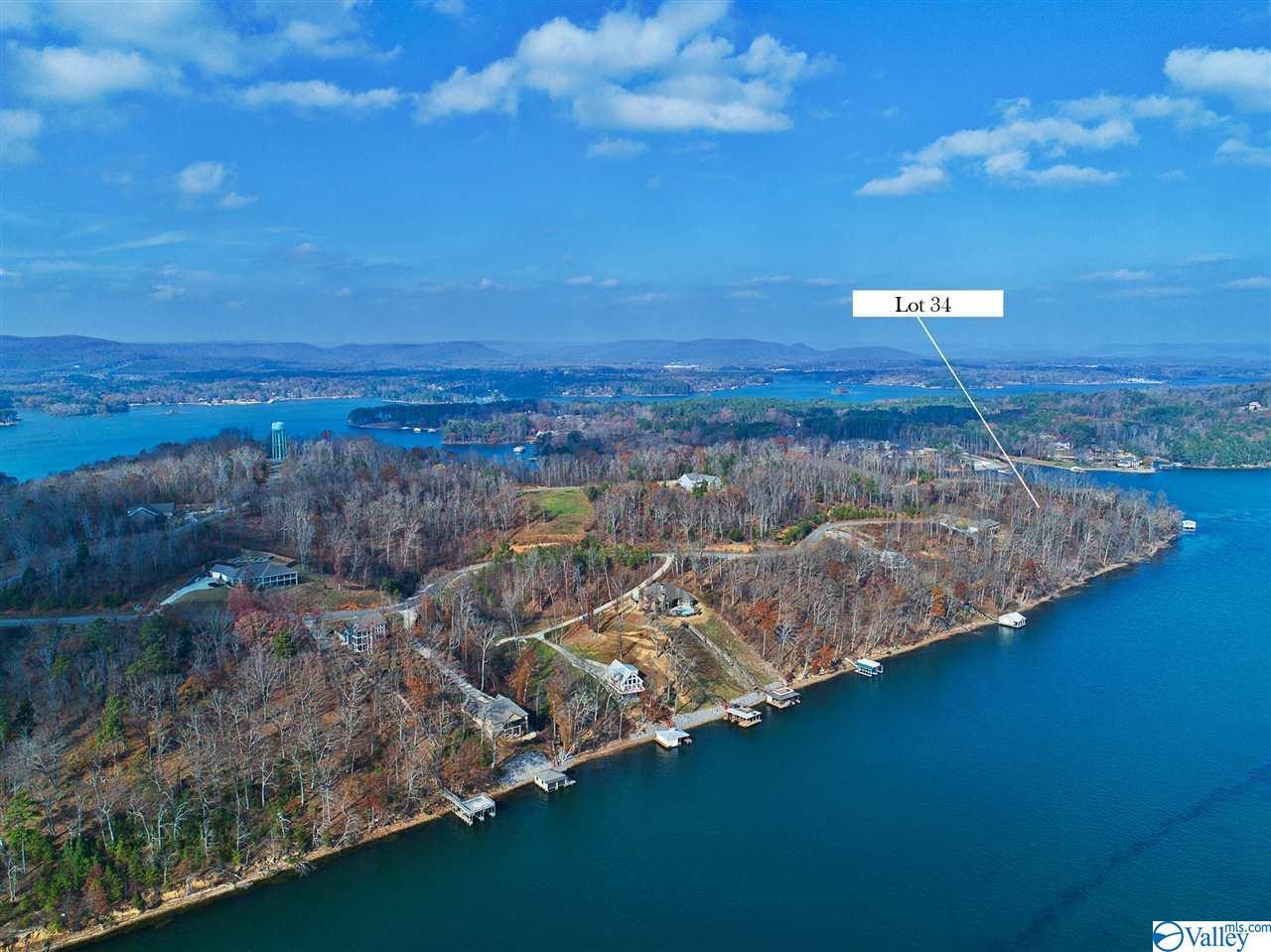 Photo of home for sale at Lot 34 Monte Sano Drive, Scottsboro AL