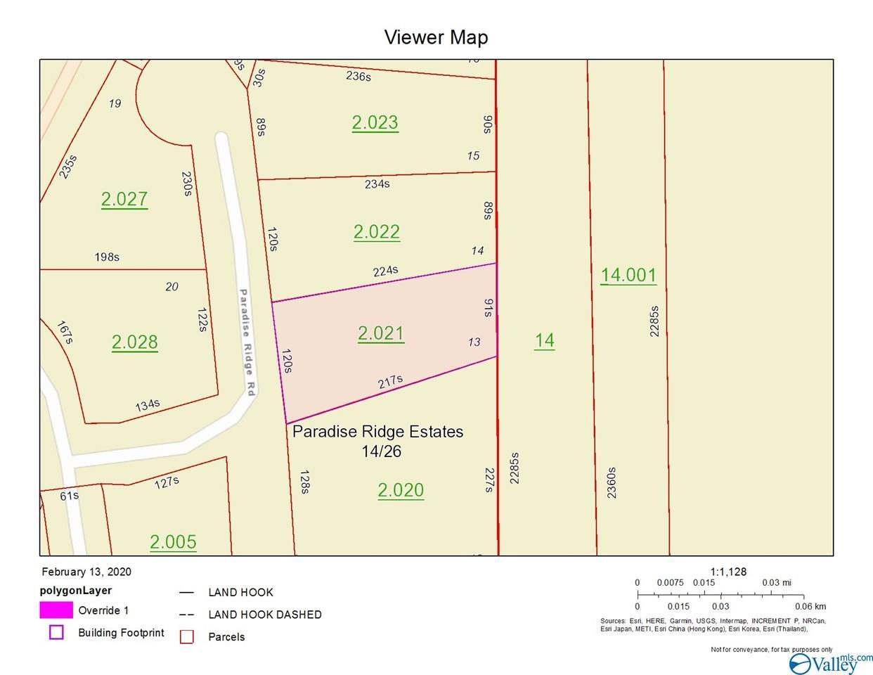 Photo of home for sale at Lot 13 Paradise Ridge Road, Leesburg AL