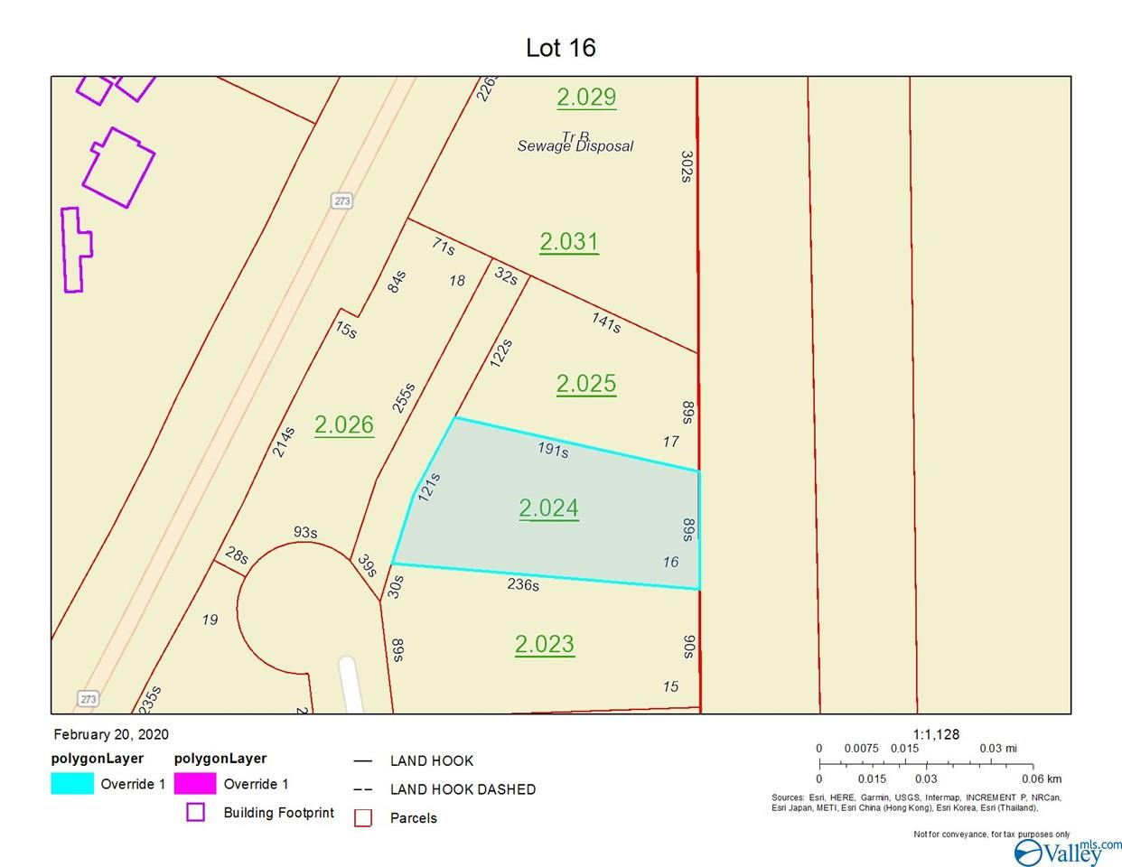 Photo of home for sale at Lot 16 Paradise Ridge Road, Leesburg AL