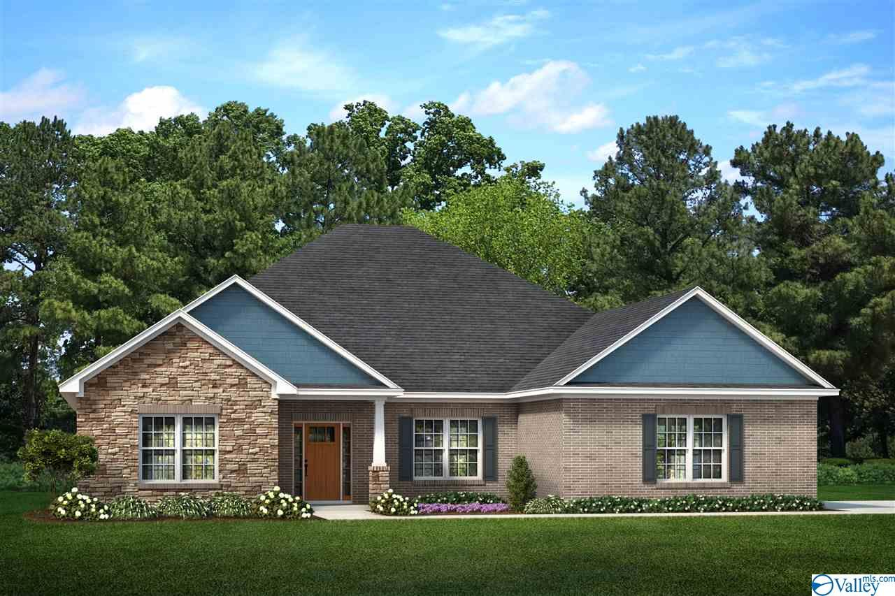 Photo of home for sale at 212 Brier Estate Drive, Meridianville AL