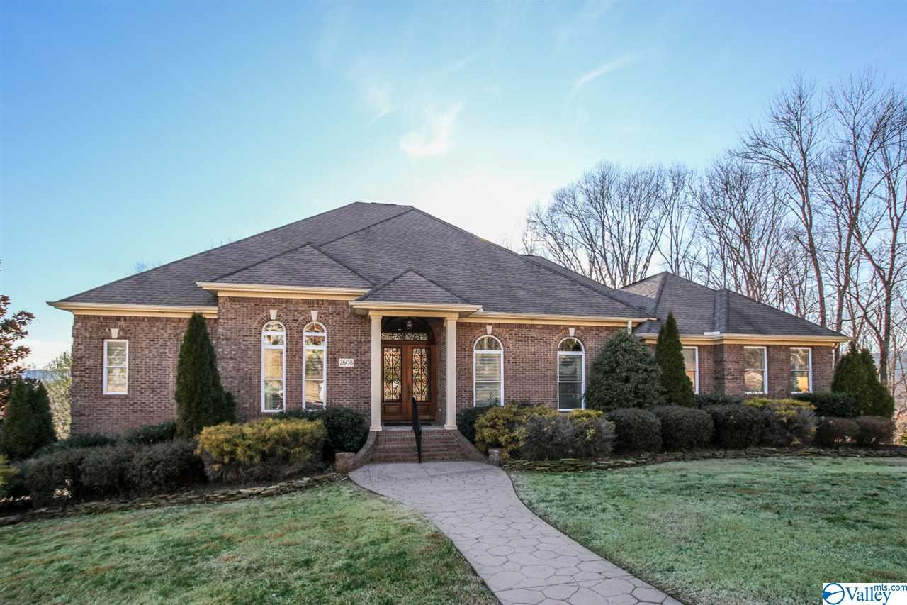 Photo of home for sale at 2608 Grande Woods Drive, Owens Cross Roads AL