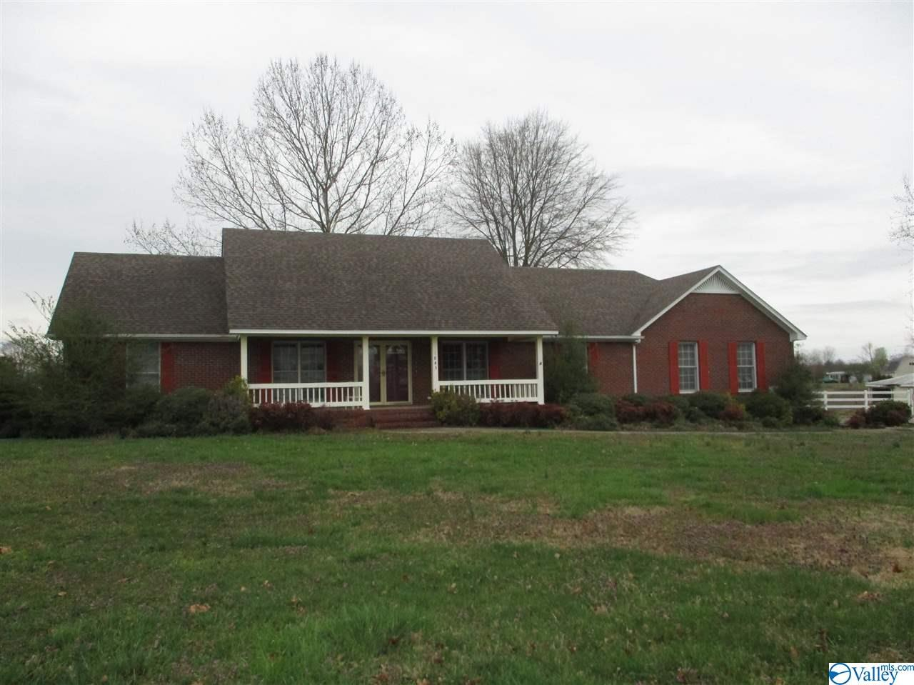 Photo of home for sale at 1845 Charity Lane, Hazel Green AL