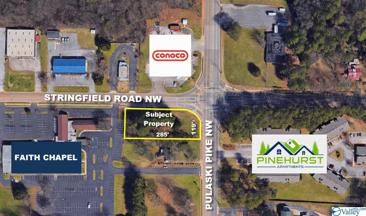 Photo of home for sale at 0 Pulaski Pike, Huntsville AL