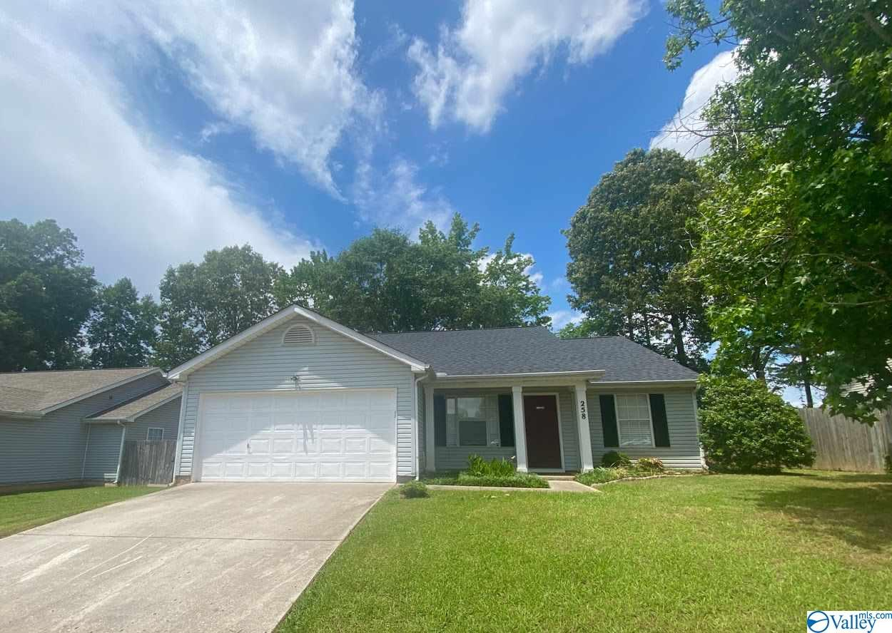 Photo of home for sale at 258 Mountain Creek Drive, Madison AL