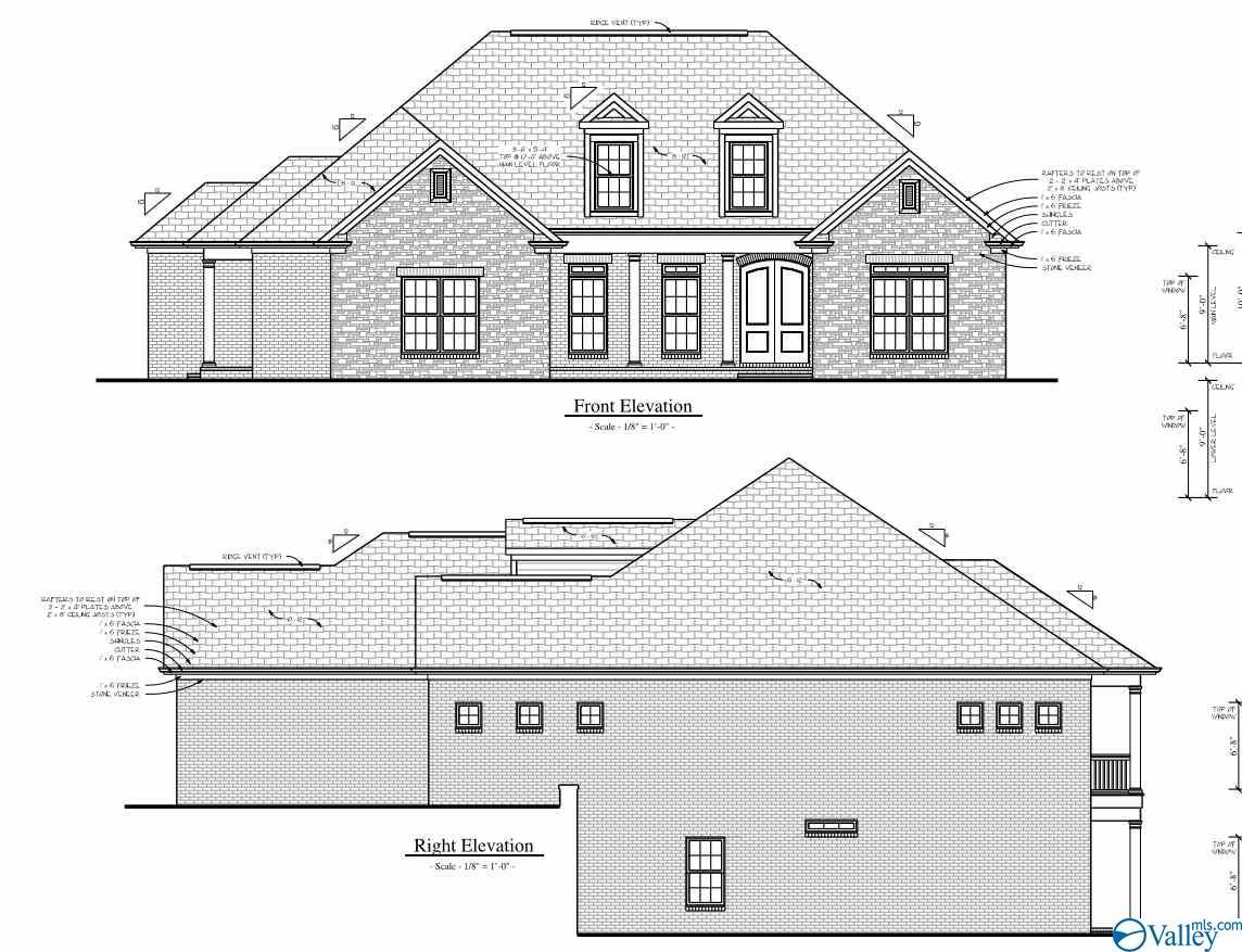 Photo of home for sale at 2604 Legacy Preserve Drive, Brownsboro AL