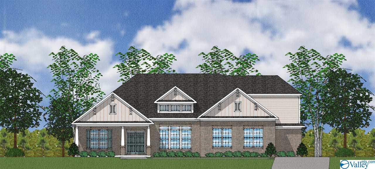 Photo of home for sale at 4512 Gresham Drive, Owens Cross Roads AL