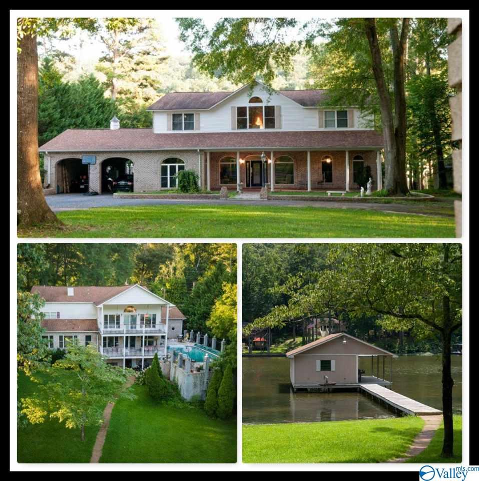 Photo of home for sale at 4117 Morrow Street, Guntersville AL