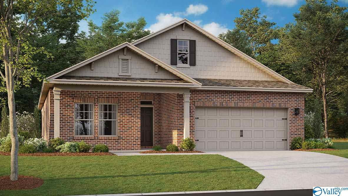 Photo of home for sale at 211 Lakewater Circle, Meridianville AL
