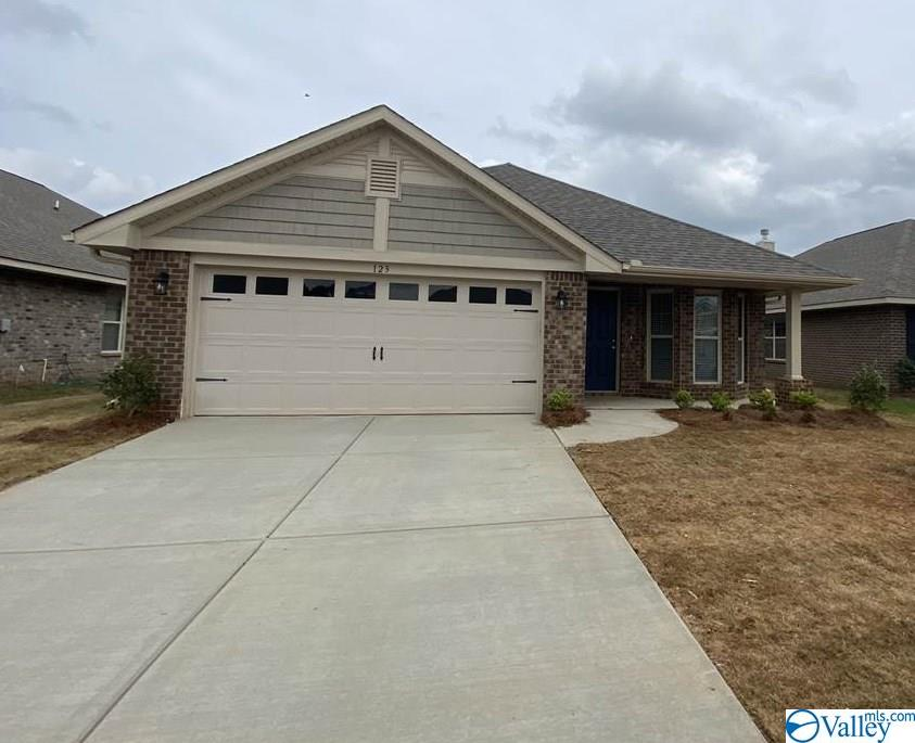 Photo of home for sale at 124 Ardsley Drive, Madison AL