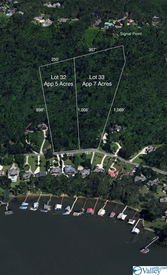 Photo of home for sale at 1400 Signal Point Road, Guntersville AL