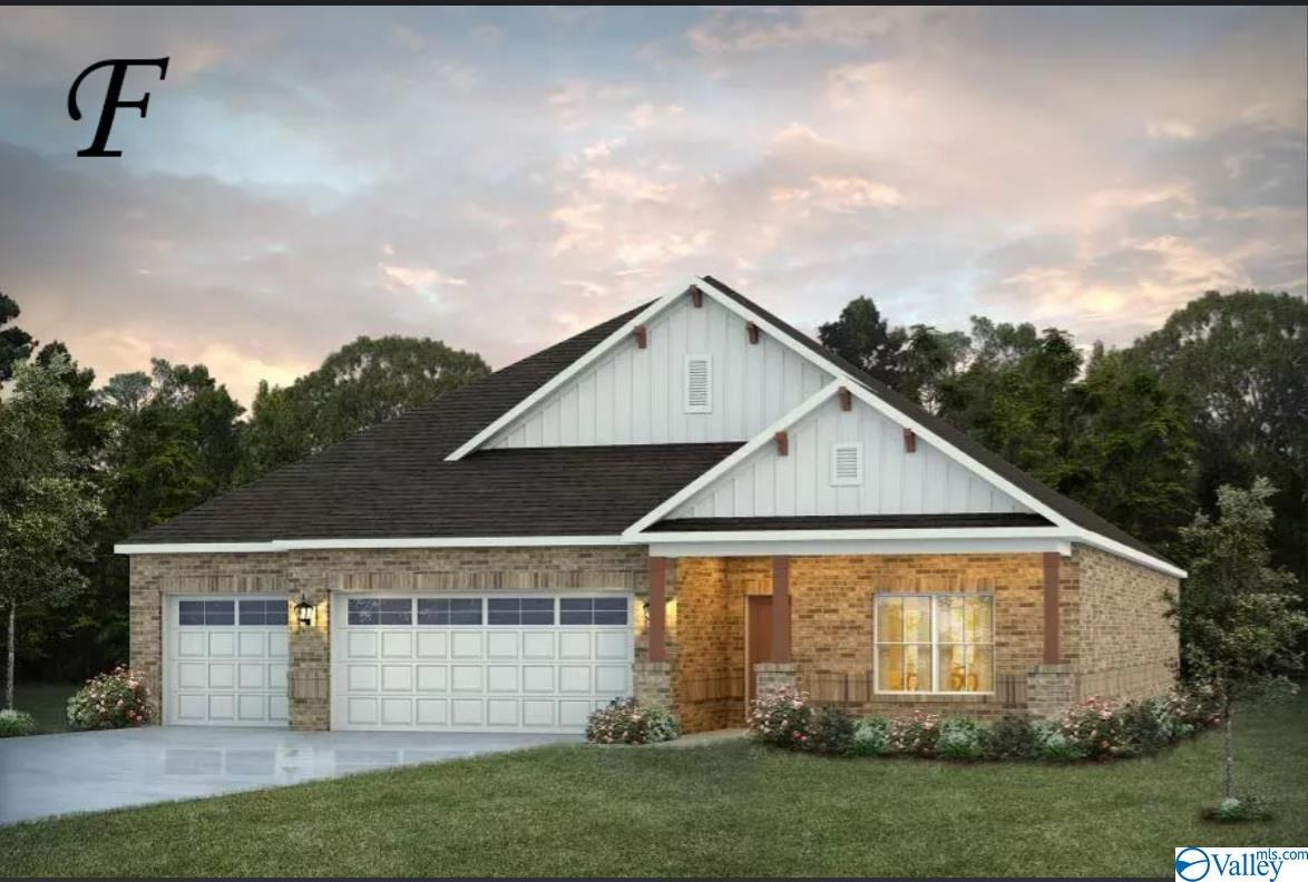 Photo of home for sale at 102 Fig Tree Road, Meridianville AL