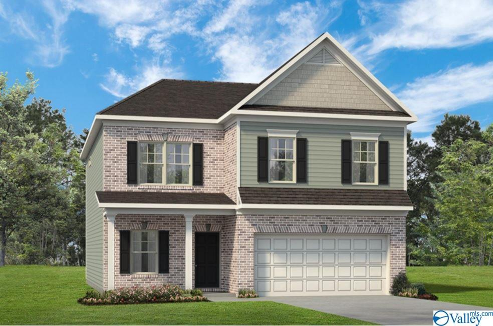 Photo of home for sale at 106 Lincoln Gray Circle, New Market AL