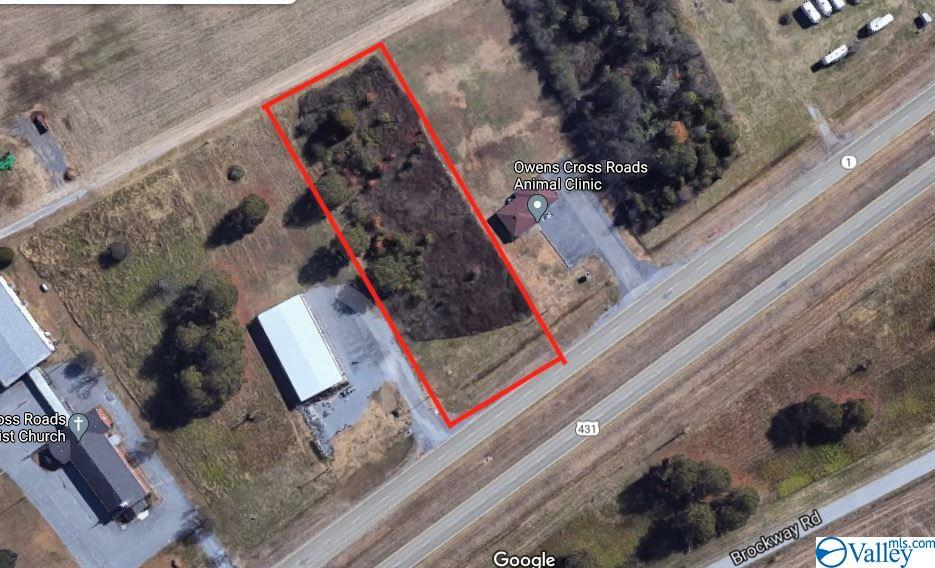 Photo of home for sale at 0 U S Hwy 431, Owens Cross Roads AL