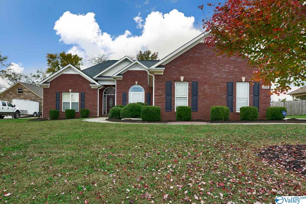 Photo of home for sale at 236 WES Ashley Drive, Meridianville AL