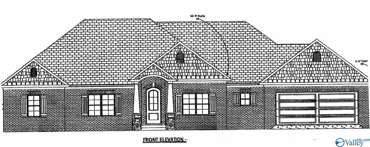 Photo of home for sale at 21 Grindstone Way, Priceville AL
