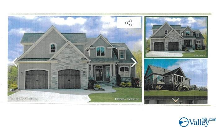 Photo of home for sale at 65 Gl Ridge Circle, Guntersville AL
