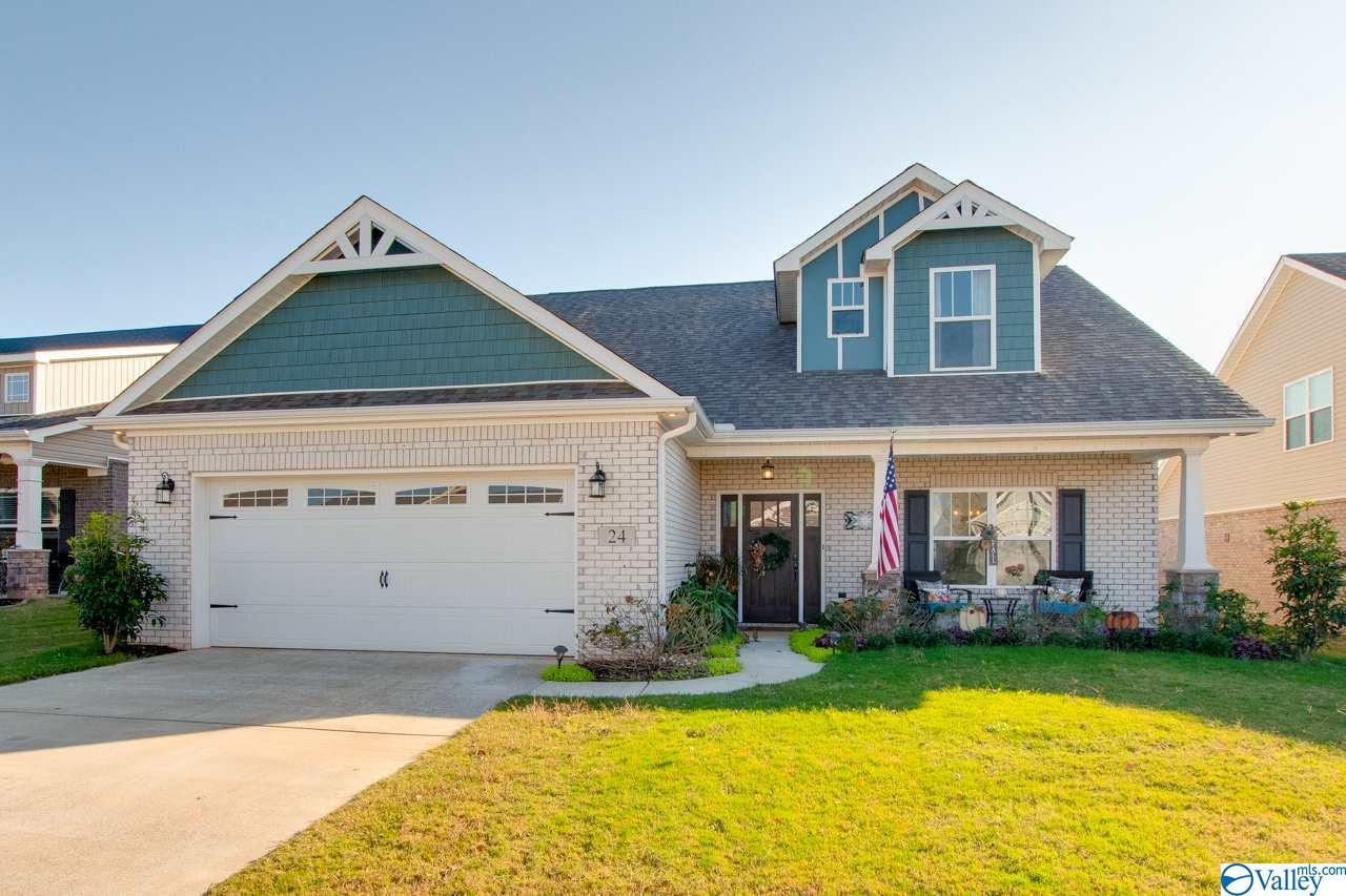 Photo of home for sale at 24 Tubman Drive, Madison AL