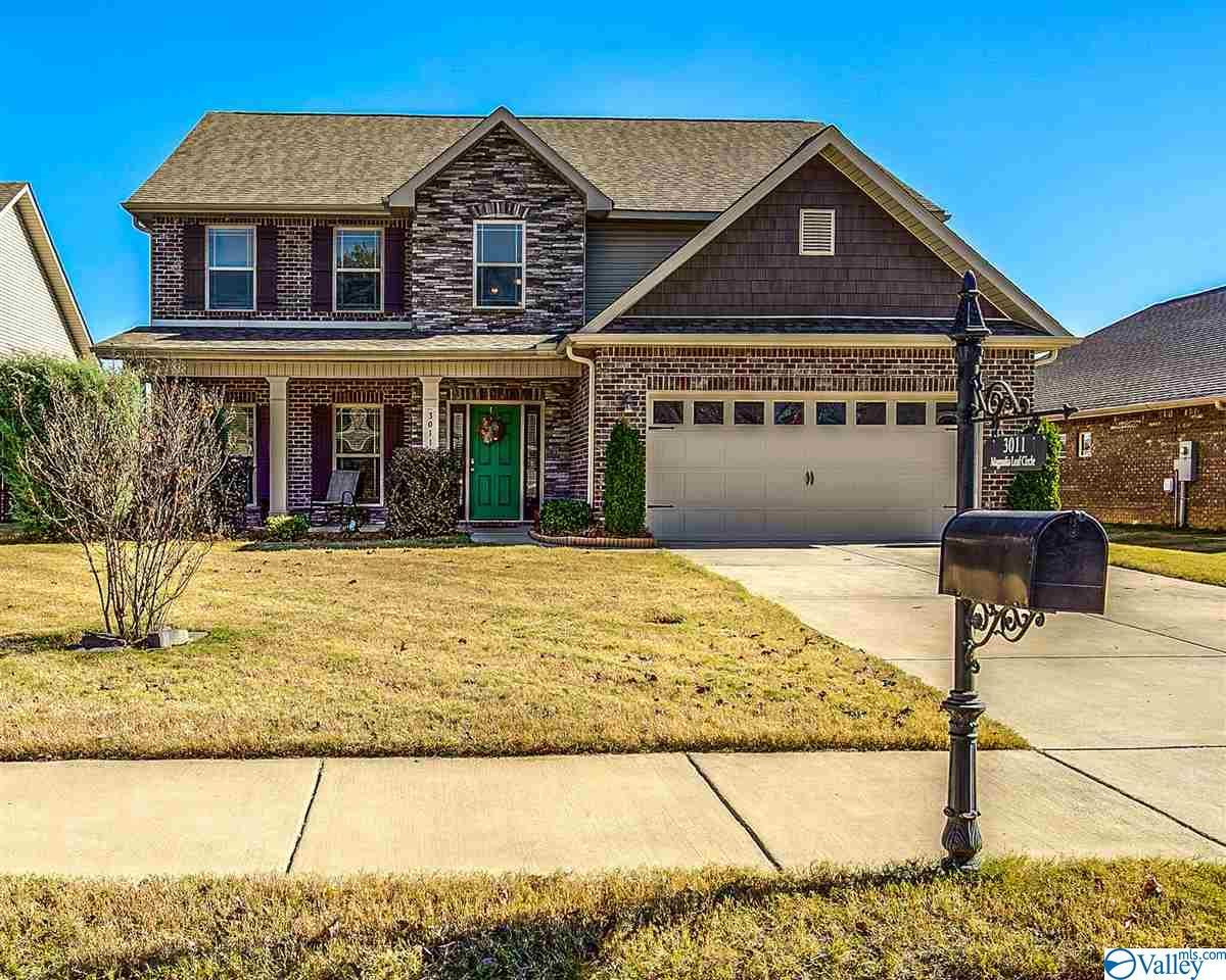 Photo of home for sale at 3011 Magnolia Leaf Circle, Owens Cross Roads AL