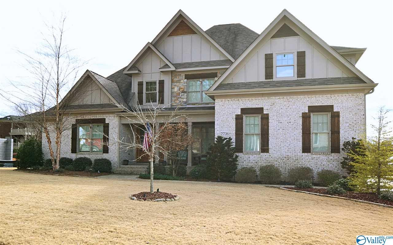 This Barry Phillips home is loaded with amenities. The quality & detail throughout the home are exquisite. The grand Foyer w/vaulted ceiling opens to a beautiful formal Dining Room w/wainscoting & a Great Room with built-ins flank the gas-log fireplace. The Chef's Kitchen features a large island, commercial stove, marble backsplash & stone countertops. Keeping Room, open to the Kitchen, has a vaulted ceiling & gas fireplace. The Master Suite features coffered ceilings & Master Bath w/custom wood shelving in 2 closets. Upstairs boasts 3 more bedrooms, & large Bonus Room. The rear screened porch w/Bahama shutters, outdoor fireplace & fenced yard. Andersen windows. Custom landscape.