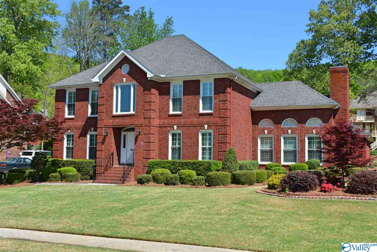 Gorgeous new listing in Hampton Cove! 6 BR-5 Bath hm located on quiet cul-de-sac, across str from lake. Playground nearby. Min from RTJ Golf Course. 3-car Gar w/blt-in cabinets, Armor flooring & enormous WALK UP STORAGE area. Soaring ceilings, sunny, open floor plan, Sun Rm, spr syst, 12 car driveway in rear of hm. Great, Family, Bonus Rm, lg Dining. UPDATED hm is move-in ready & has ALL the amenities you expect! New interior paint, wooden plantation shutters, hdwds, 2 f'places, Pella windows. Stunning, oversized Mast Suite, as well as a Guest BR on main level w/priv Bth.Perfect for elderly parent or small child.Renovated Gourmet Kitch w/granite, dble oven & SO much more!