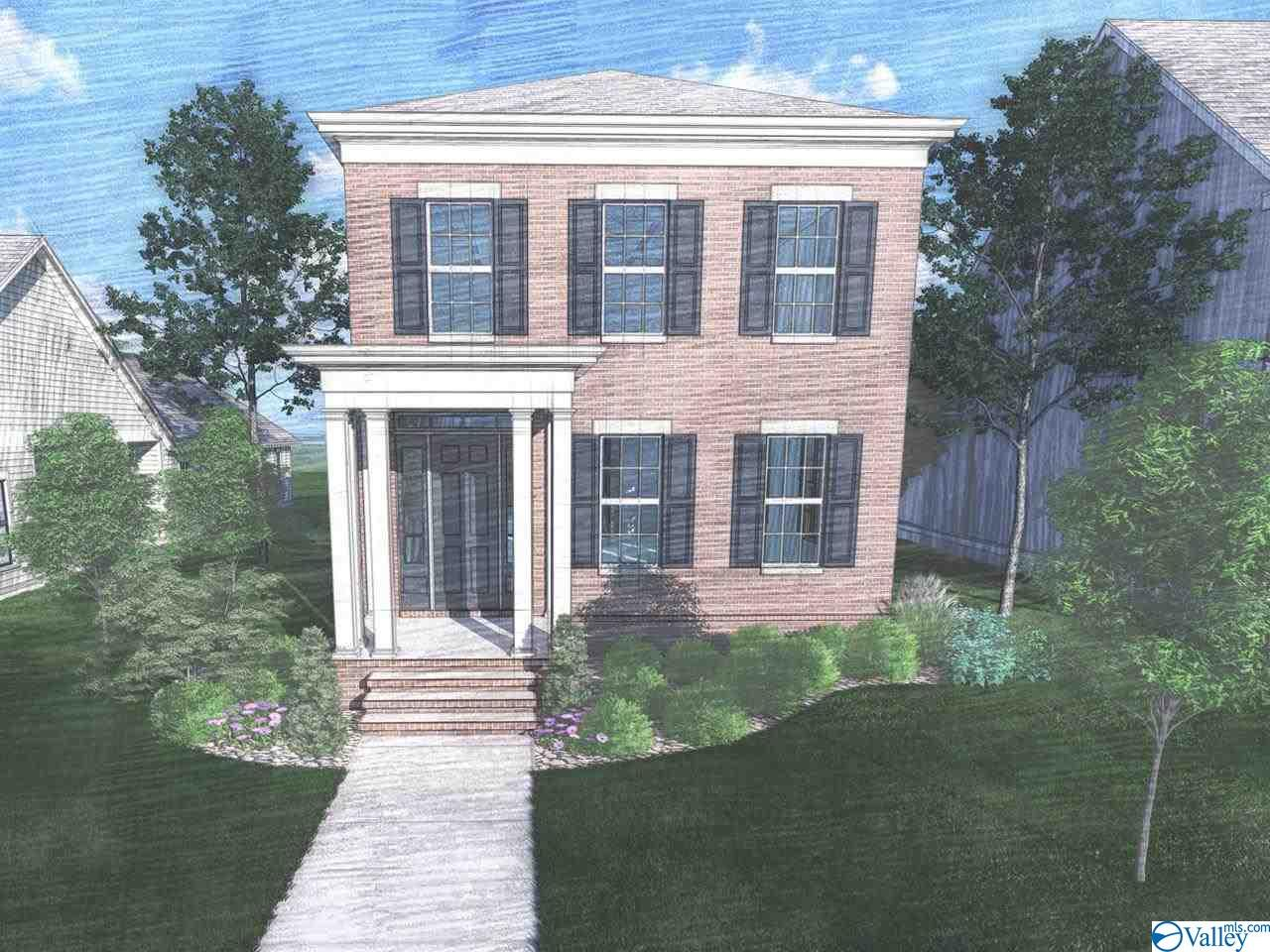 Under Construction-Come home to this attractive 2-story brick home in the Village of Providence that offers the combination of low maintenance, clean lines & modern interior design. This home boost an open concept design complete with an attractive kitchen featuring a large island just past the living and dining space. Enjoy the porch directly off kitchen with great view & access to sideyard. The master includes a soaking tub, tile shower, & walk-in closet. Upstairs you'll find two charming bedrooms and a bathroom. Rear entry two-car garage. Residents & guest enjoy strolls to the town center along picturesque tree-lined sidewalks with the convenience of nearby schools, parks, stores, restaur