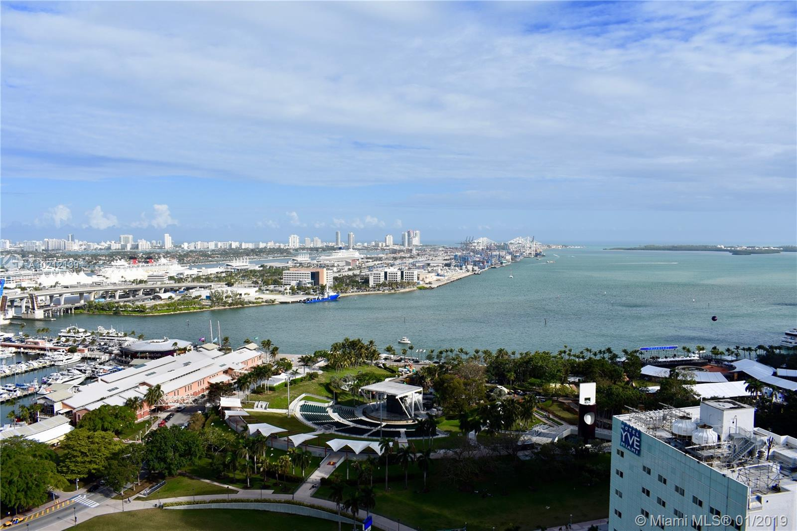 Vizcayne Two #2703 - 253 NE 2nd St #2703, Miami, FL 33132