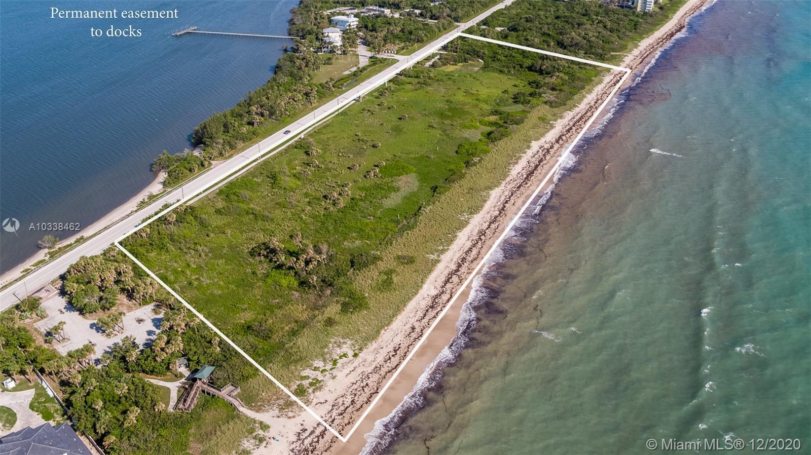 7700 S Ocean Dr, Jensen Beach, Florida 34957, ,Land/boat Docks,For Sale,7700 S Ocean Dr,A10338462