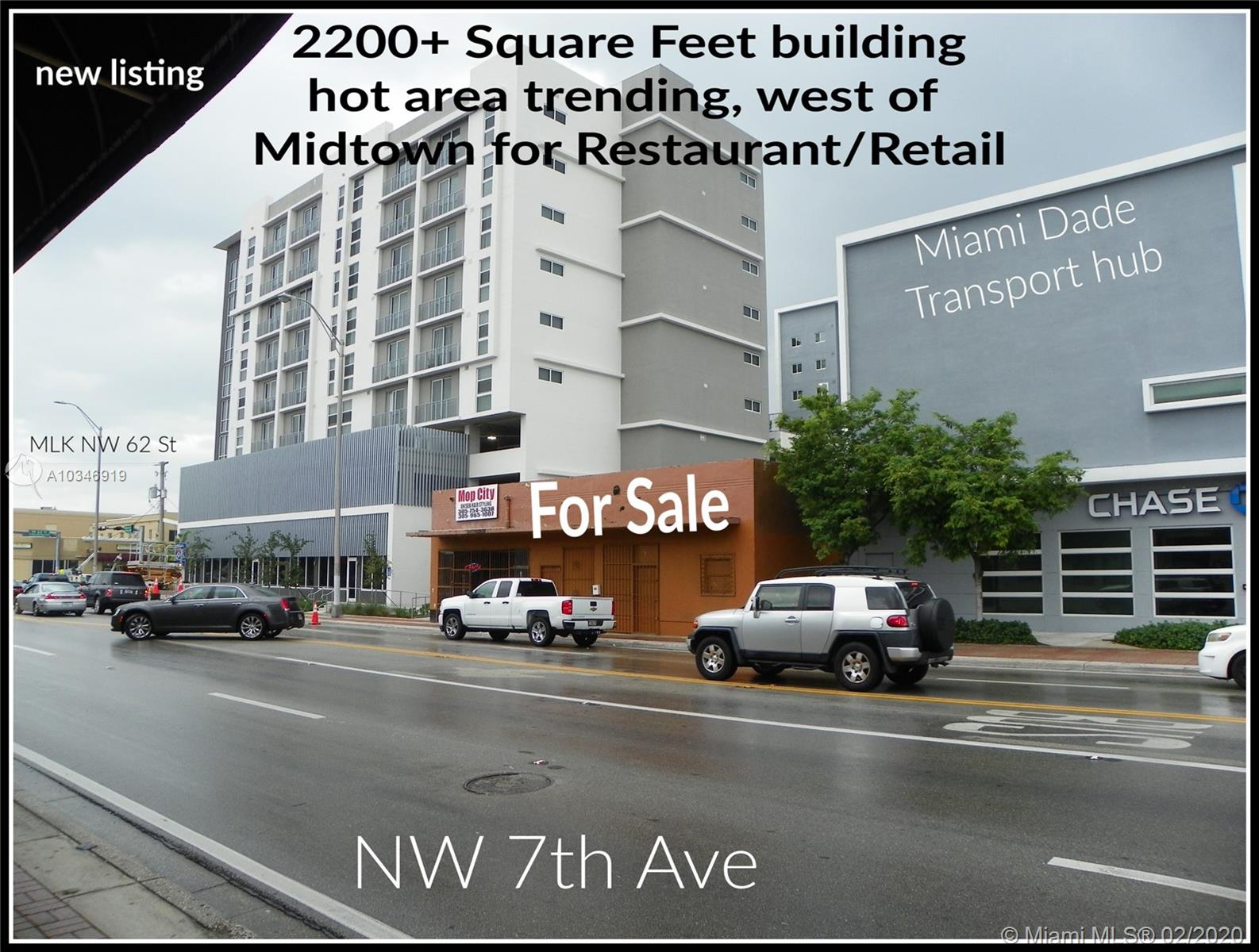 6105 NW 7th Ave, Miami, Florida 33127, ,Commercial Sale,For Sale,6105 NW 7th Ave,A10346919