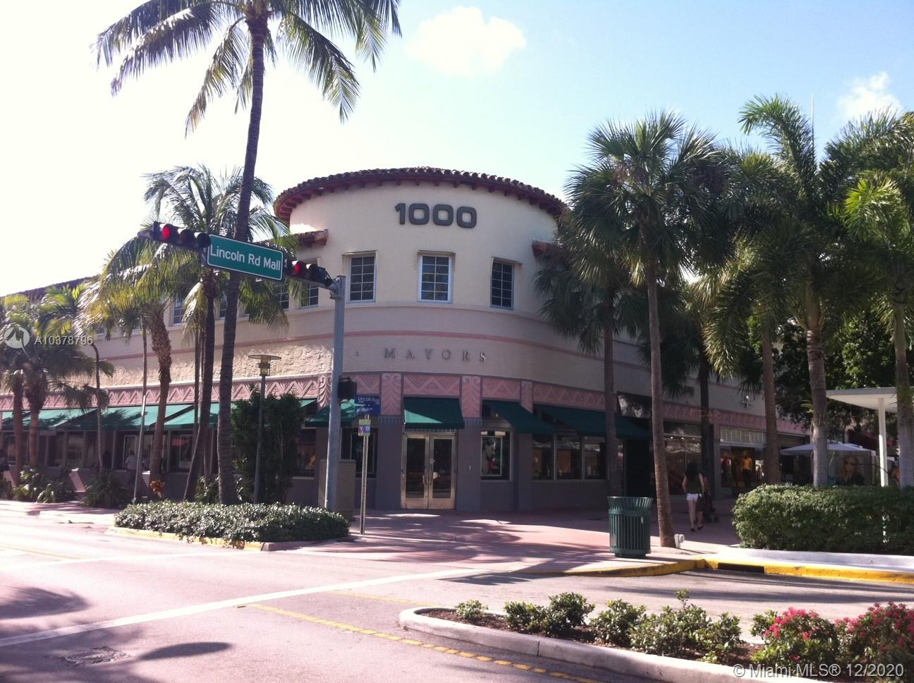1000 Lincoln Rd # 215, Miami Beach, Florida 33139, ,Commercial Sale,For Sale,1000 Lincoln Rd # 215,A10378796
