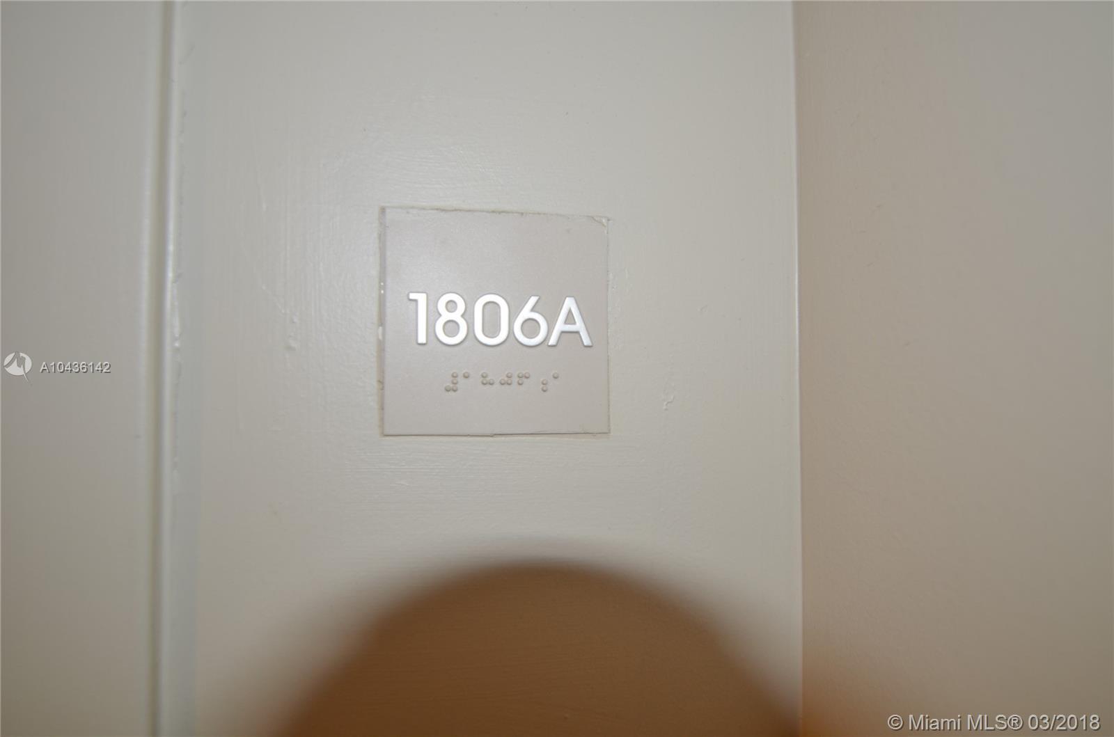 17315 COLLINS AV #1806 photo013