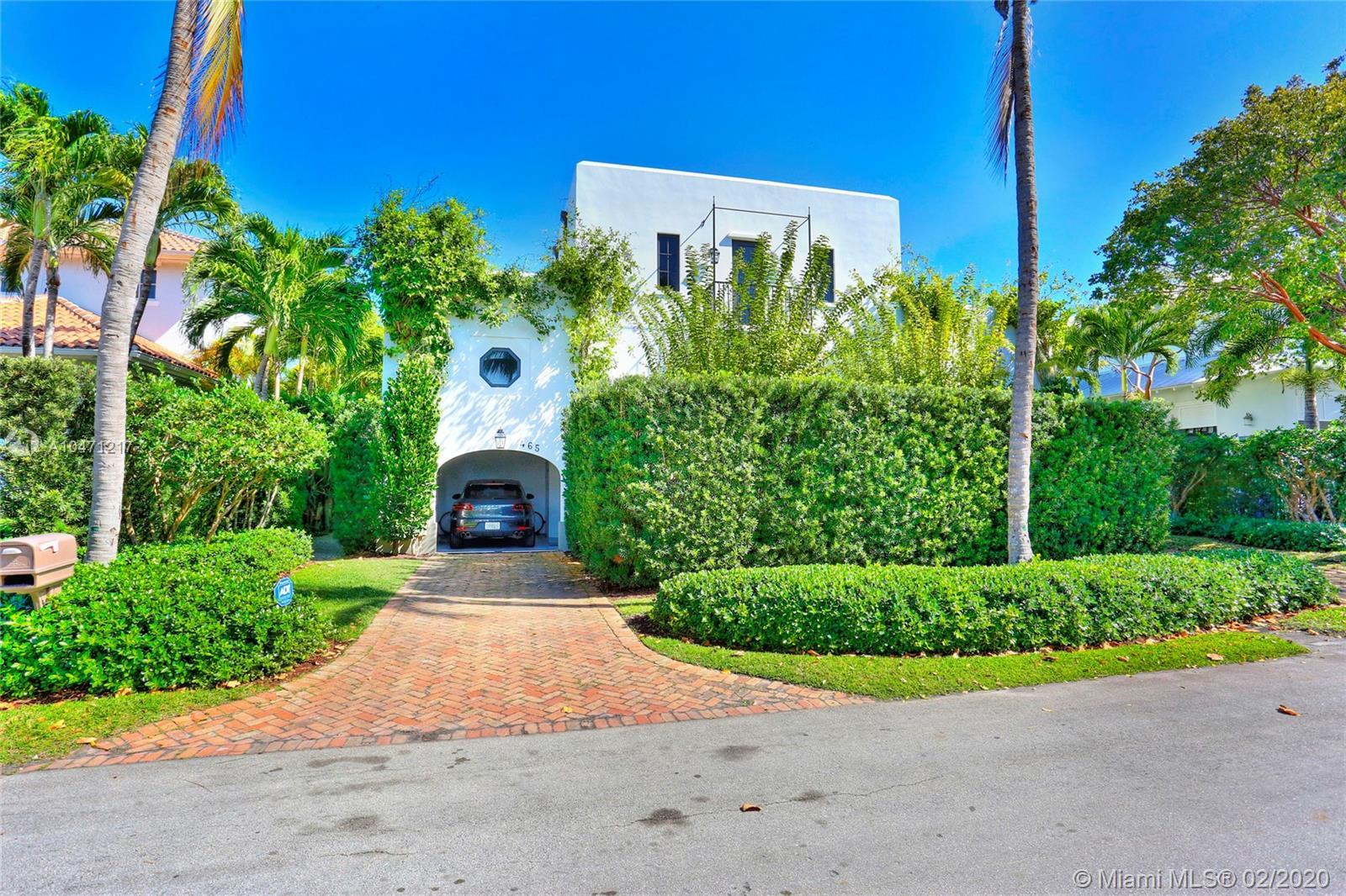 Tropical Isle Homes - 465 HAMPTON LN, Key Biscayne, FL 33149