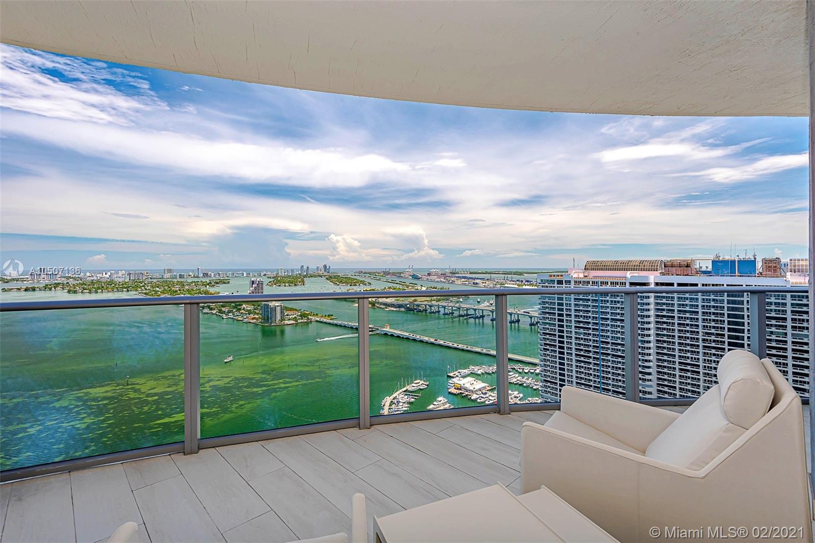 Aria on the Bay #3812 - 488 NE 18th Street #3812, Miami, FL 33132