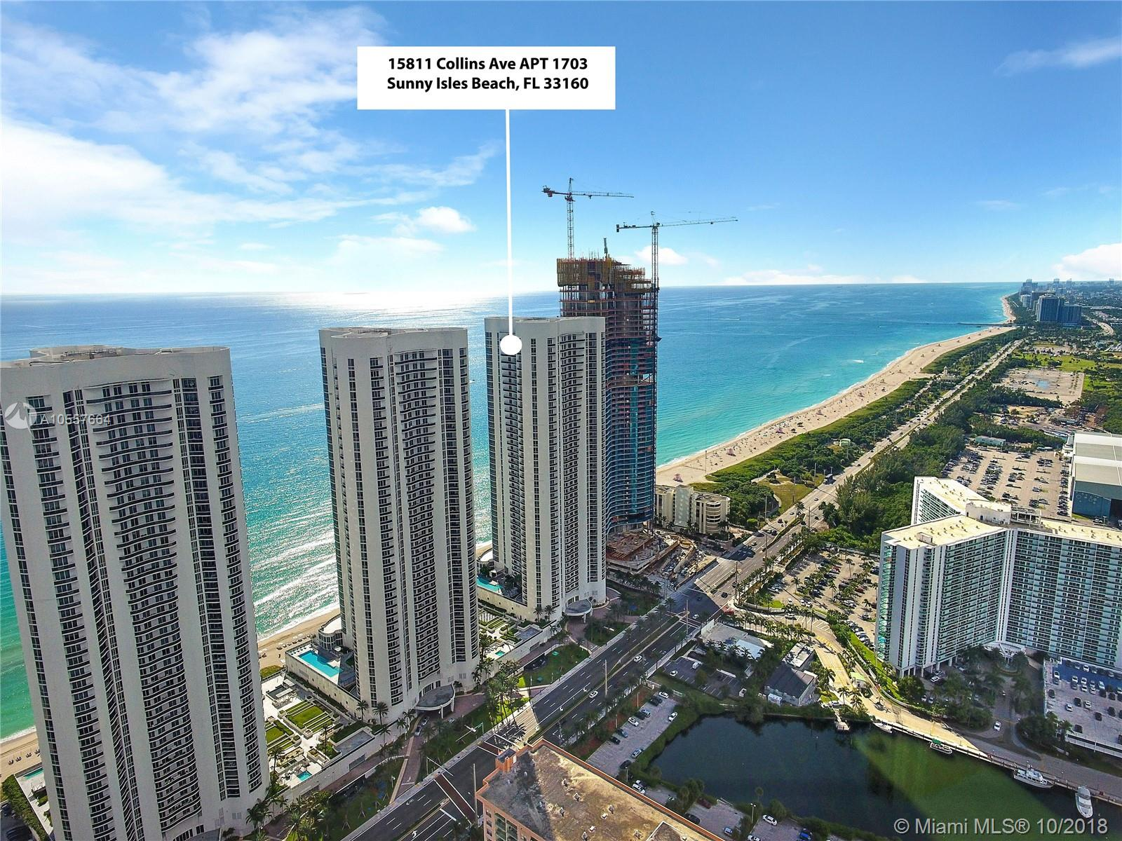 Property 15811 Collins Ave #1703 image 1