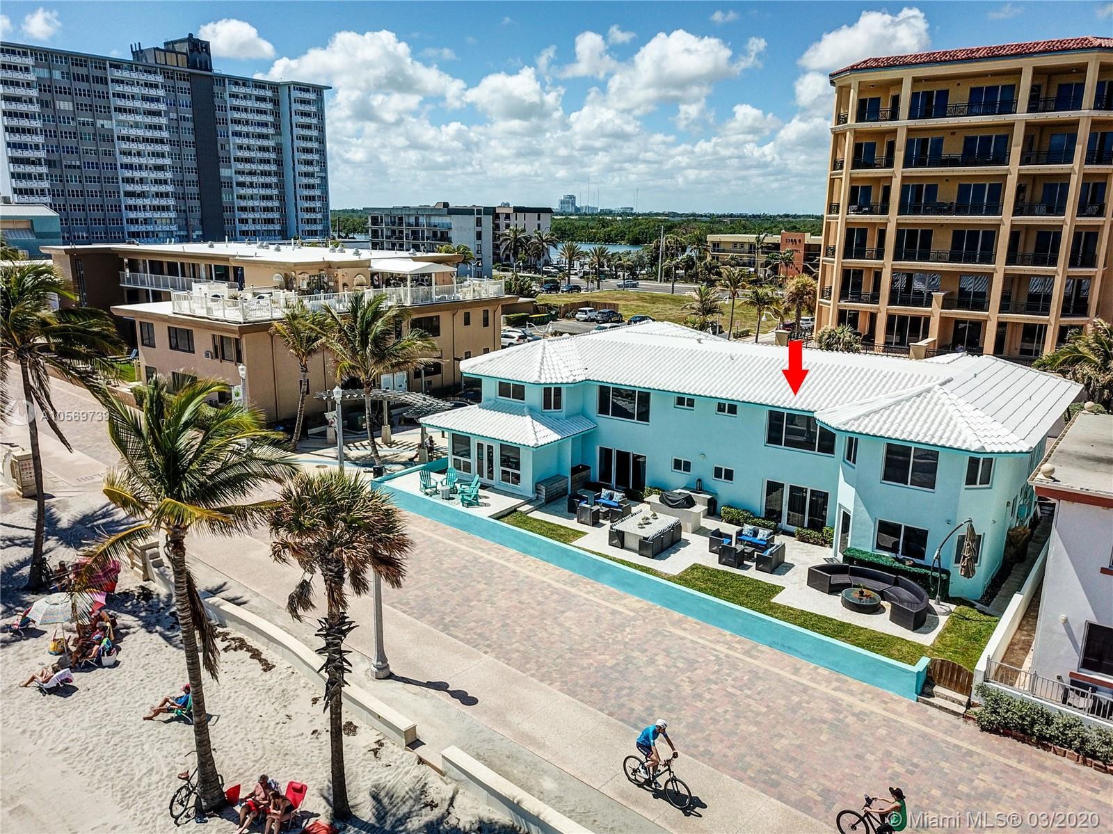 3400 N SURF ROAD # 4, Hollywood, Florida 33019, 1 Bedroom Bedrooms, ,1 BathroomBathrooms,Residential Lease,For Rent,3400 N SURF ROAD # 4,A10569739