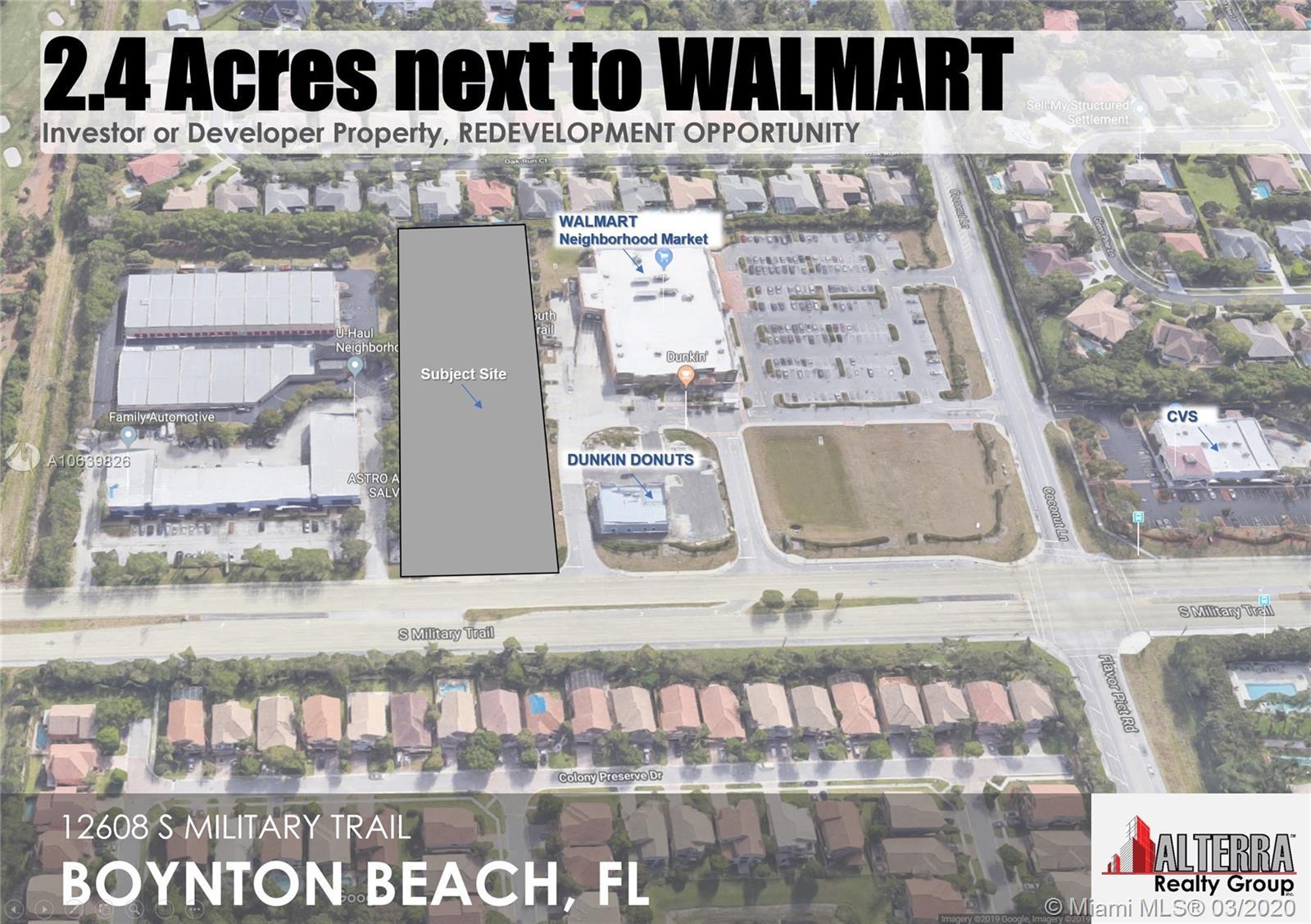 image #1 of property, 2 4 Acres Next To Walmart