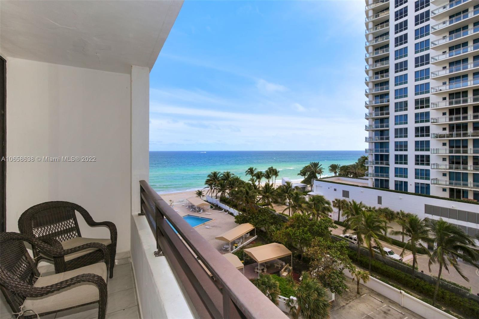 Alexander Towers #719 - 3505 S Ocean Dr #719, Hollywood, FL 33019