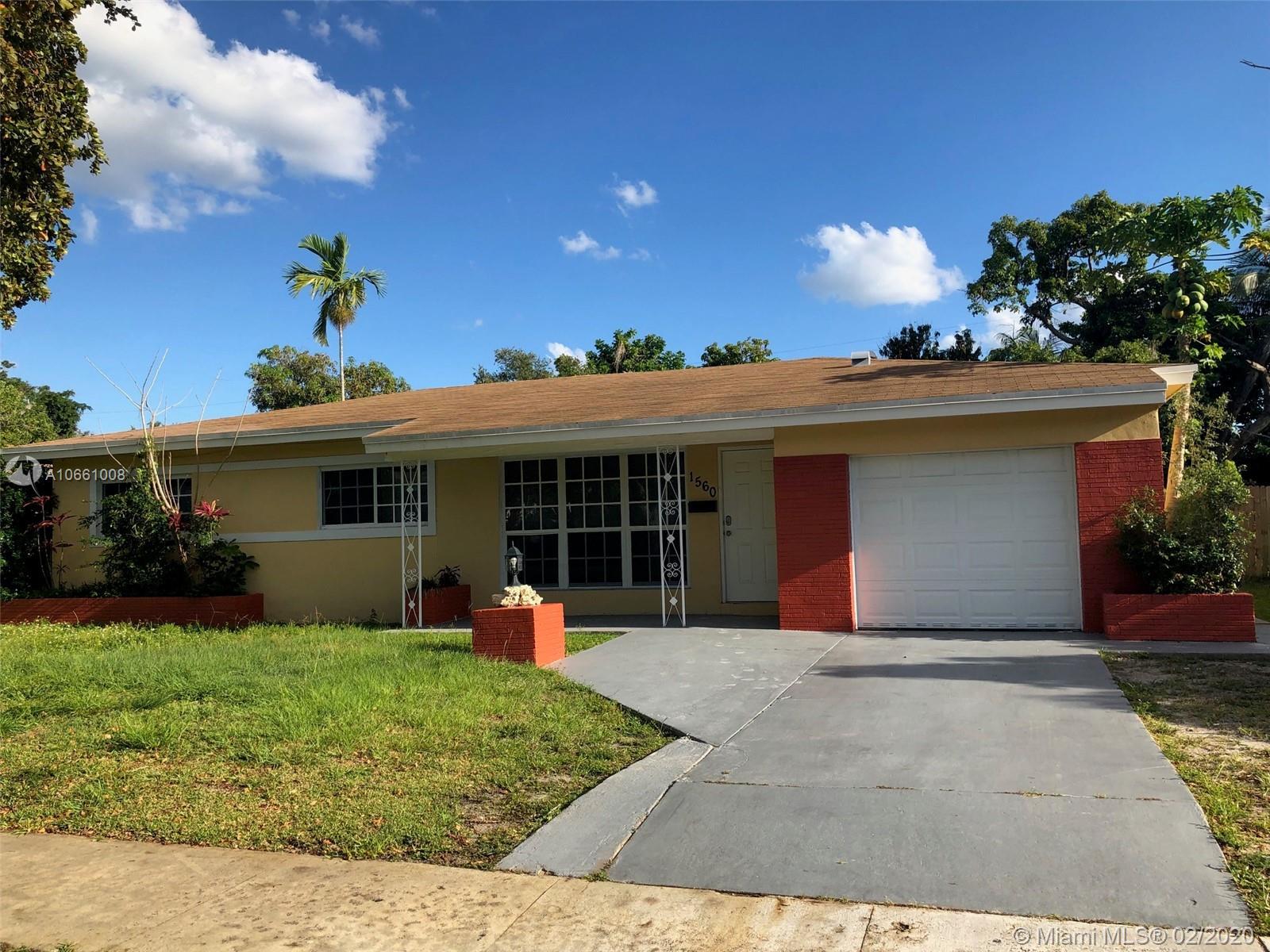 North Miami Beach - 1560 NE 159 St, North Miami Beach, FL 33162