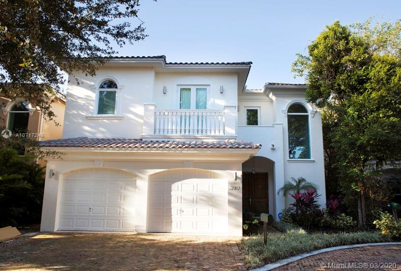 2760 Brickell Ct, Miami, Florida 33129, 5 Bedrooms Bedrooms, ,6 BathroomsBathrooms,Residential,For Sale,2760 Brickell Ct,A10717248